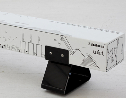"""where we at"" graffiti bench with WIID DESIGNS"