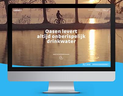 OASEN.nl Oasen drinkwater company website