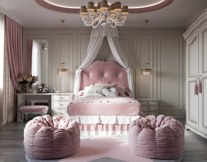 CGI:Bedroom for Princess