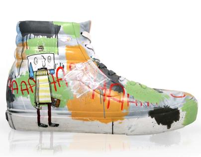 Vans fiber glass shoe