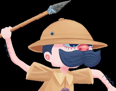 Hunter Character Design