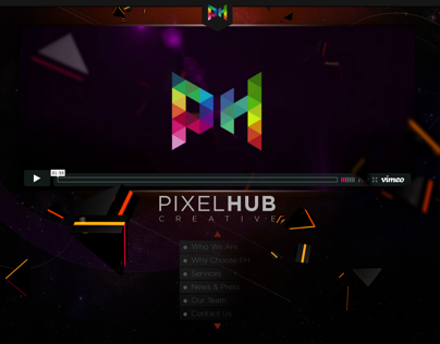 Pixelhub Creative Website