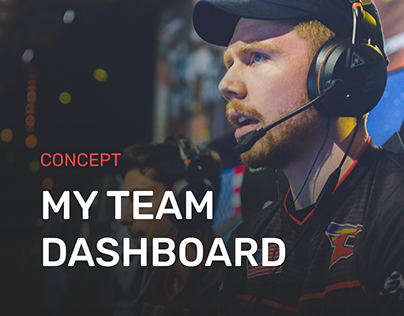 Team Dashboard Concept.