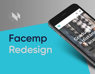 Facemp - UI/UX Redesign