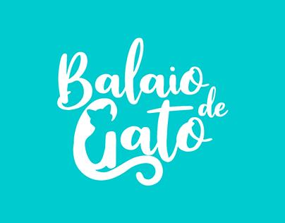 Capa de Livro e ID Visual - Balaio de Gato