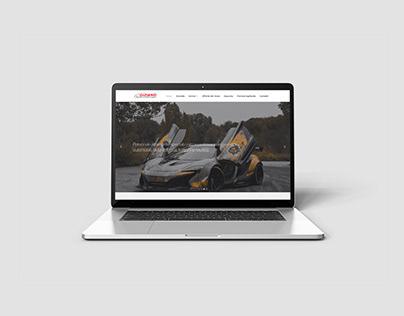 Officina Giziano - Responsive web site