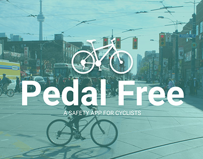 Pedal Free: A Safety App for Cyclists