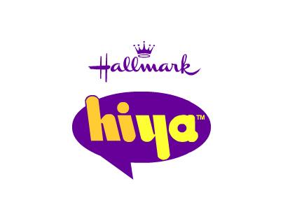 Hallmark Hiya Logo Design