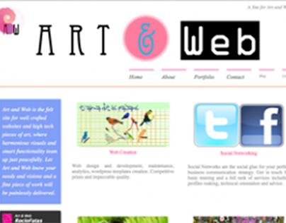 Art & Web - WP theme