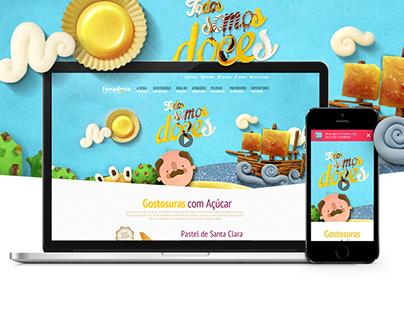 Fenadoce - Website
