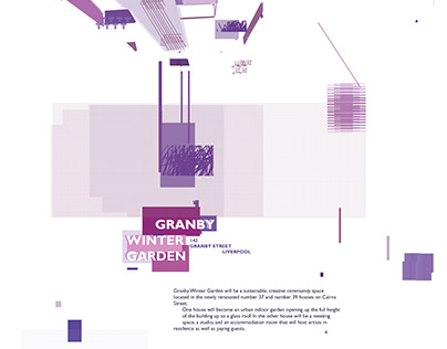 Fly Posters for Granby Winter Garden: Pilot Project