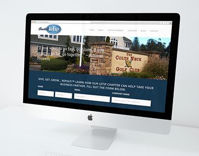 Coastal LeTip Website Redesign & Social Media