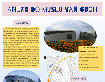 Estudo de Referência - Anexo Museu Van Gogh