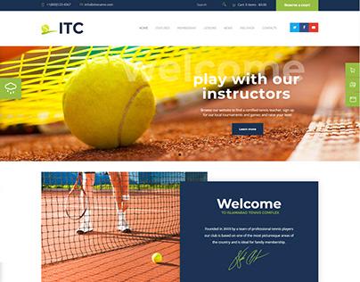 Islamabad Tennis Complex | Web Design