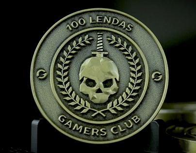 Moeda 100 Lendas Gamers Club