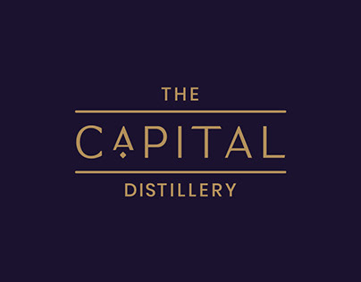 The Capital Distillery - Brand Design
