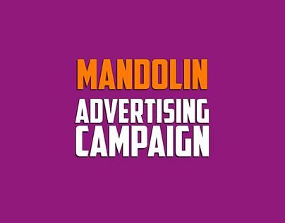 mandolin advertising campaign poster