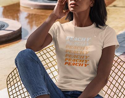 T-Shirt MockUp Black Girl