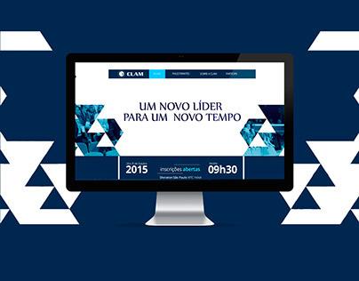 Layout CLAM - Confederação Latino Americana.
