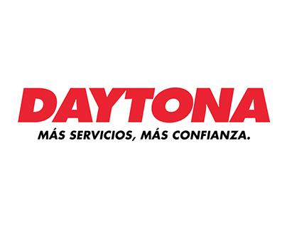 Rediseño de marca Gomerías Daytona