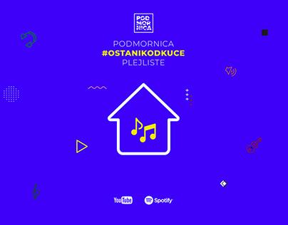 #StayHome Music Playlists - Podmornica