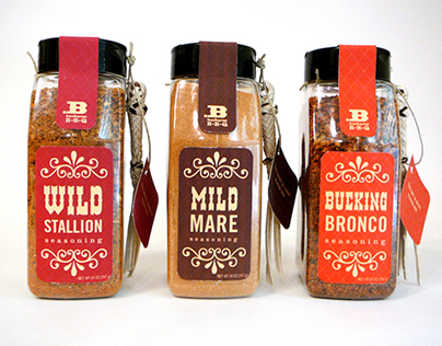 Buckaroo BBQ Identity and Packaging Design