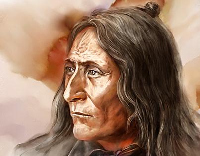 """Chief Crowfoot"", 2018"