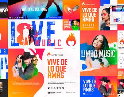 Limbo Music - Rebranding.