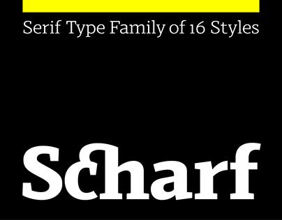 Scharf – Type Family