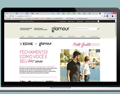 Glamour - Hotsite - Keine