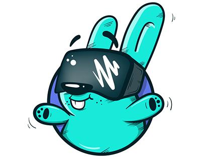 VR Nyúlz Logo