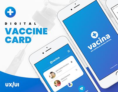 Mobile app Vaccine Card (+Vacina - Cartão de vacina)