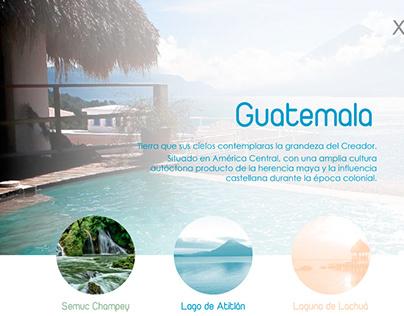 Interactive Presentation - Guatemala