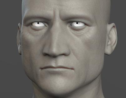 realistic head sculpting