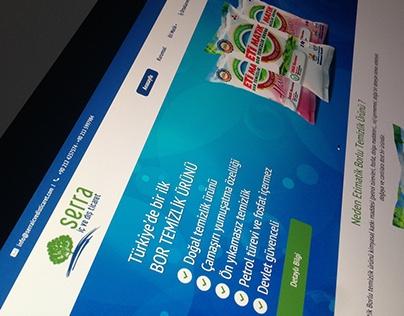 Serra İç ve Dış Ticaret Web Design Work