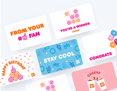 Dunkin' Gift Cards