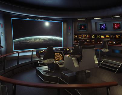 The original series Star Trek Bridge