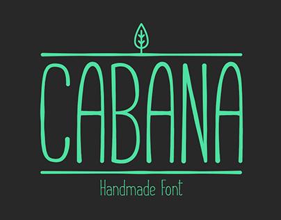 Cabana - Handmade Font