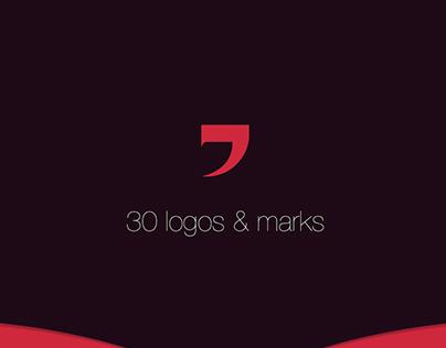 30 logos & marks