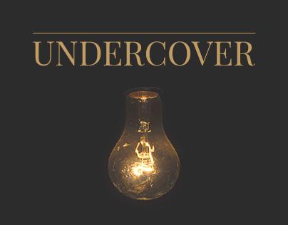 Undercover Minimalistic Web Template FREE PSD