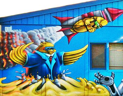 ODTU Teknokent   Graffiti