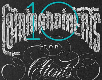 10 Commandments (for Clients)