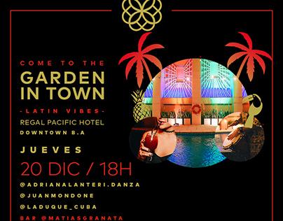 Garden in Town - Invites