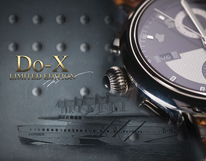"Graphic presentation of watch collection ""Timepieces"""