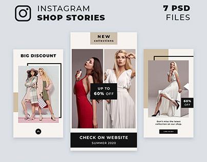 Instagram Shop Stories