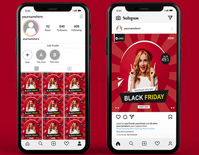 social media post design (Instagram)