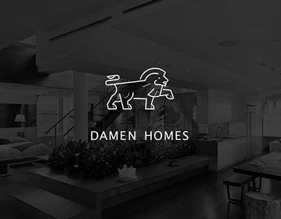 Damen Homes (landing & logo)