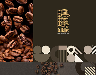 DA KOFFEE - Conceptual Coffee Business Branding