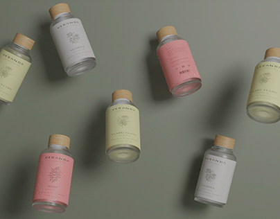 Veranda Essential oil - Branding and packaging