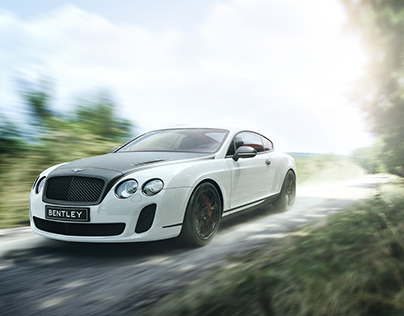 Bentley Continental GT Custom | CGI & Retouching
